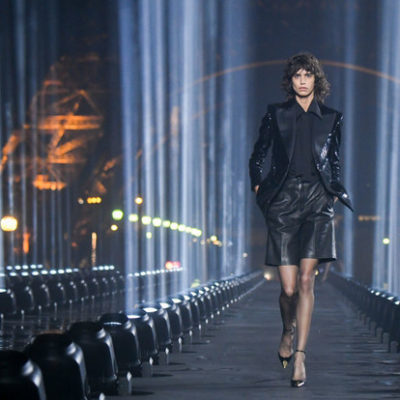 magic magic and the triumph of style in the Saint Laurent collection