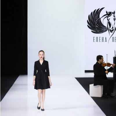 В черно-белых тонах: Елена Летучая представила дебютную коллекцию