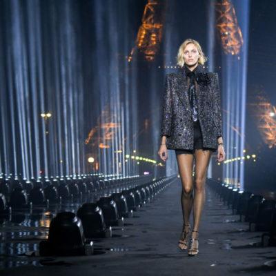 Saint Laurent покидает Неделю моды в Париже