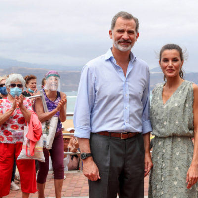 The wife of the king of Spain put on a dress for 2000 rubles