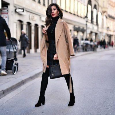 Пальто — предмет гардероба стильной женщины